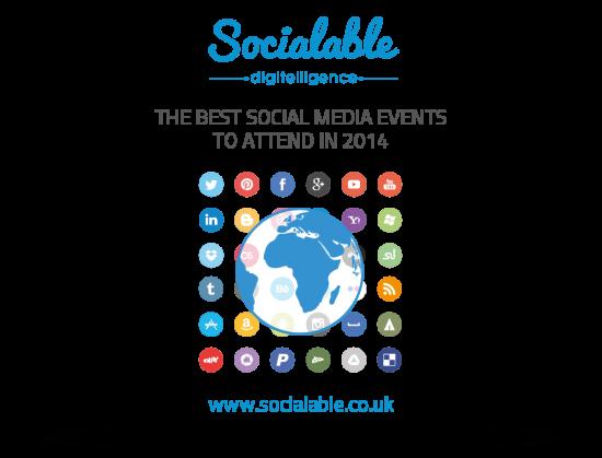 Eventet më të mira lidhur me mediat sociale që ia vlejnë të ndiqen në 2014-n