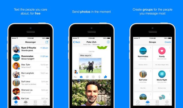 Përditësohet Facebook Messenger për iOS, shtohen disa veçori të reja