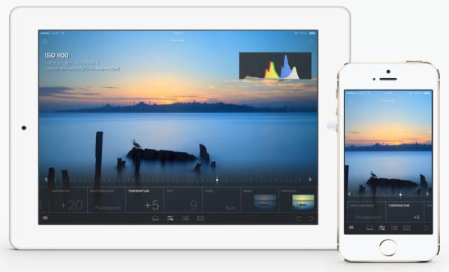 Adobe prezanton aplikacionin mobil Lightroom për iPad dhe iPhone