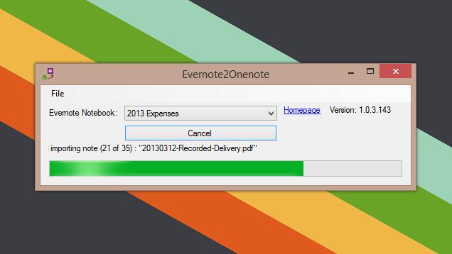 Ja se si të kaloni të dhënat tuaja nga Evernote në OneNote