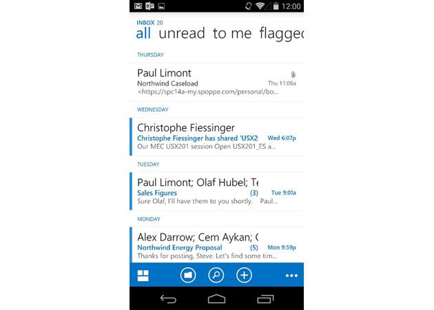 Lajmërohet ardhja e aplikacionit të Outlook Web për Android