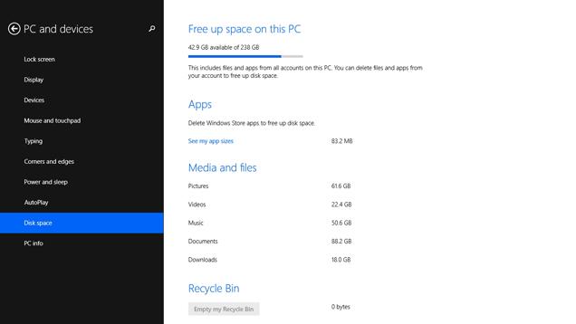 Ja se si të shikoni se cilët folderë zënë më tepër hapësirë në Windows 8.1
