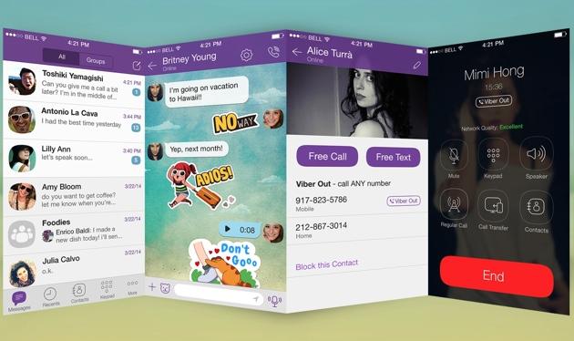 Njihuni me ridizajnimin madhor të Viber për iPhone