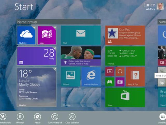 Njihuni me disa imazhe të përditësimit të Windows 8.1