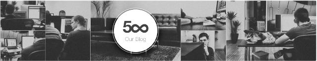500px fillon një bashkëpunim me shërbimin e blogjëve personale About.me