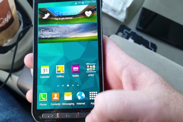 Smartfoni Samsung Galaxy S5 Active shfaqet në YouTube