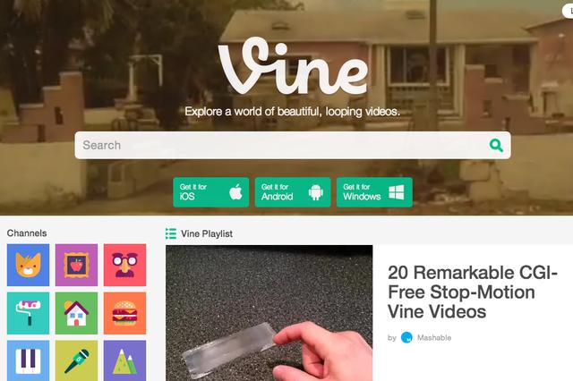 Përditësohet versioni për ueb i Vine, bëhet i ngjashëm me YouTube