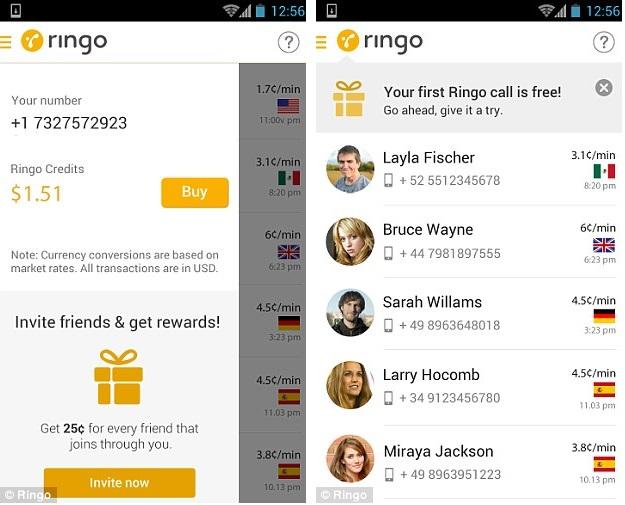 Aplikacioni Ringo, rivali më i ri i Skype