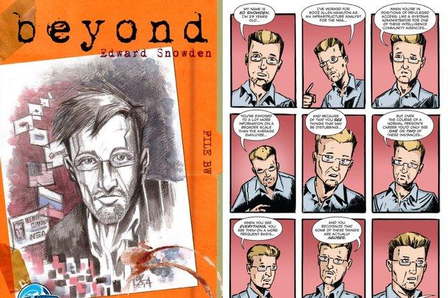 Edward Snowden tani është një yll i librave me ilustrime