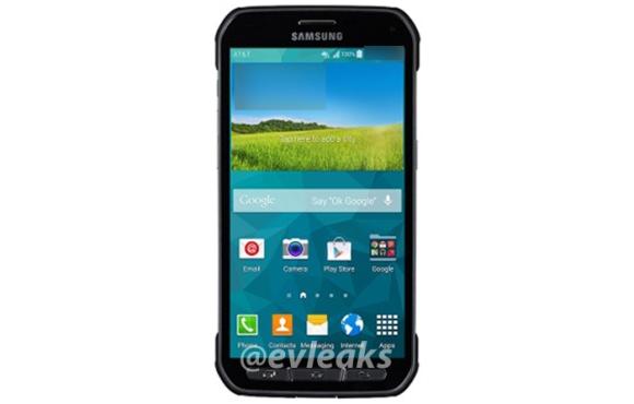 Një imazh i Samsung Galaxy S5 Active shfaqet në Twitter
