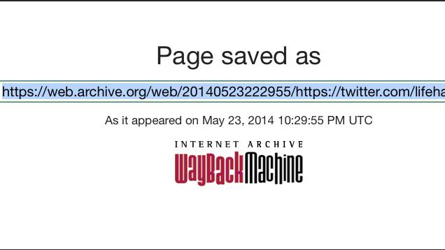 Ja se si të ruani përmbajtjen e faqeve që ndryshojnë në arkivin e internetit