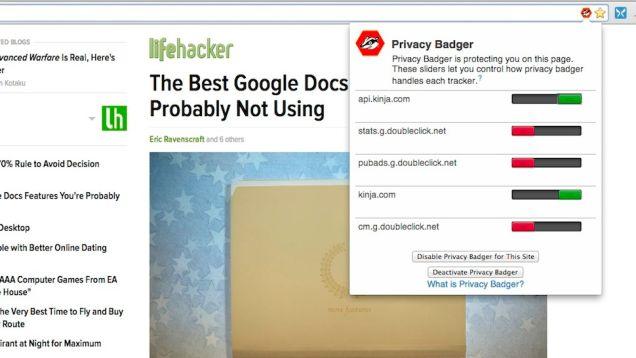 Privacy Badger ju mbron nga përgjimet online