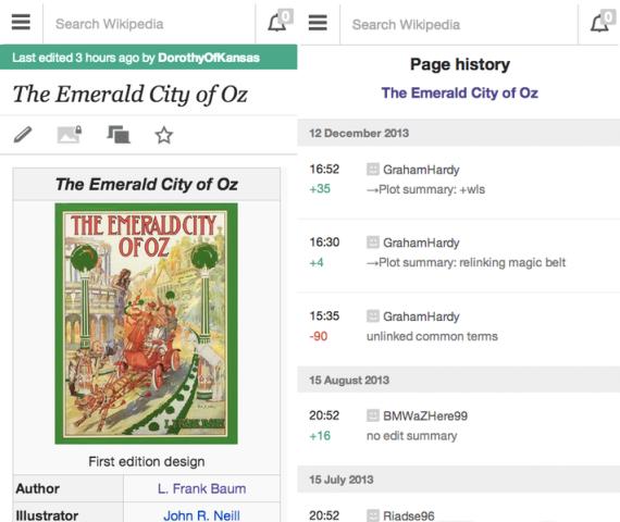 Versioni i ri mobil i Wikipedia-s nxjerr në pah kontribuesit e artikujve