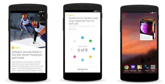 Yahoo lançon aplikacionin e lajmeve për Android, i disponueshëm në gjithë botën