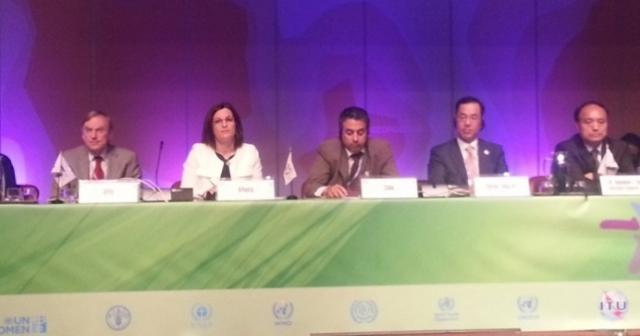 Ministrja Harito merr pjesë në Samitin Botëror të Shoqërisë së Informacionit