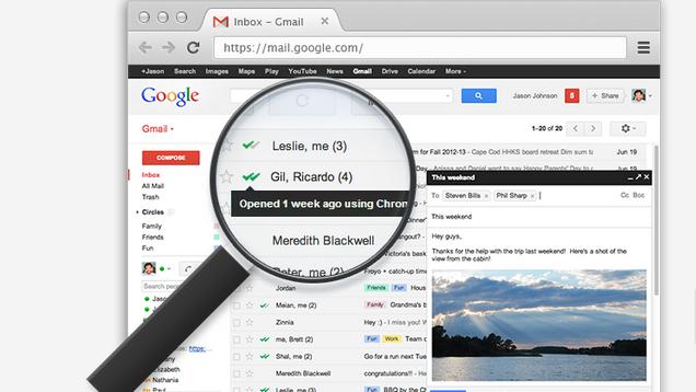 Me aplikacionin MailTrack kuptoni se kur marrësi ka lexuar e-mailin tuaj në Gmail
