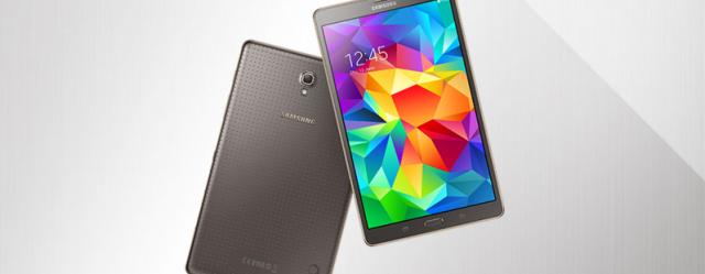 Samsung prezanton tabletët Samsung Galaxy Tab S 8.4 inç dhe 10.5 inç