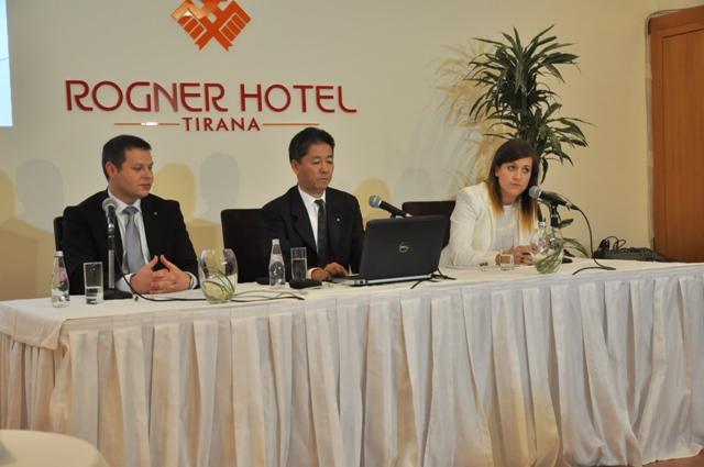"""Presidenti i Konica Minolta prezanton për herë të parë në Shqipëri shërbimet """"Optimized Print Services"""""""
