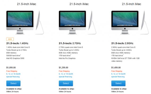 Apple lançon një model iMac më të lirë