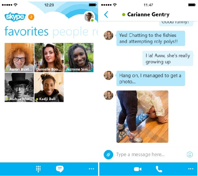 Skype 5.1, version i ri i aplikacionit për iPhone