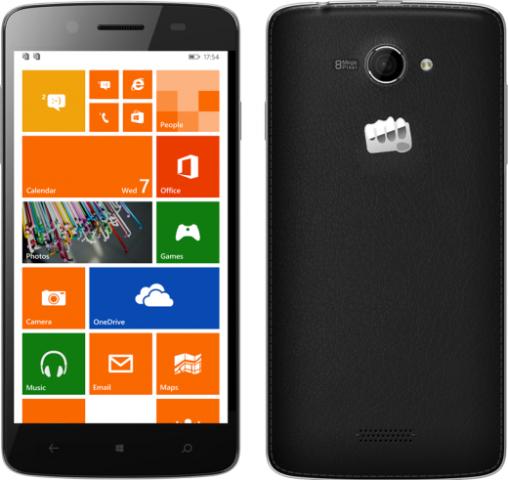 Micromax është prodhuesi i parë indian i smartfonëve që lançon pajisje Windows Phone