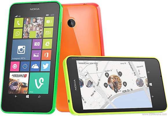Nokia Lumia 635 me mbështetje për 4G kushton vetëm 189 $