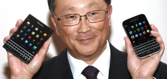 CEO i Blackberry-t prezanton dy telefonët e rinj të kompanisë, Passport dhe Classic