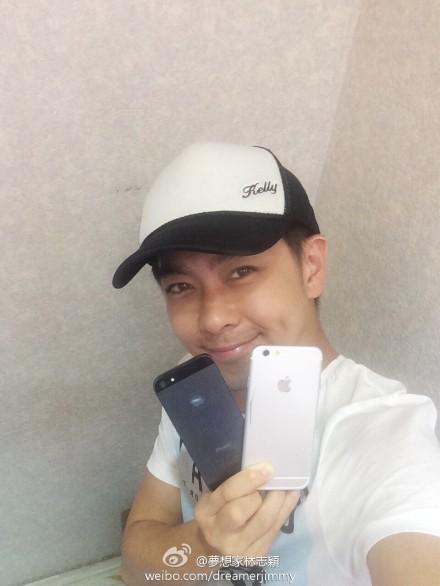 Aktori Jimmy Lin shpërndan fotografi të iPhone 6