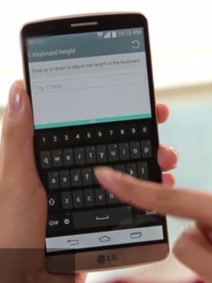LG përditëson tastierën inteligjente të smartfonit G3