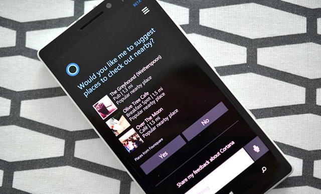 Cortana i Microsoft-it tani integron rezultatet nga Foursquare
