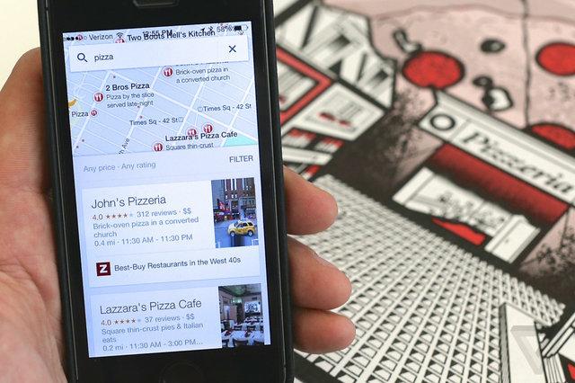 Google shton përshkrimin e hartave në aplikacionin Maps për iOS