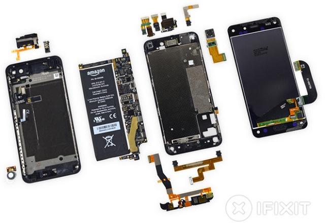 Amazon Fire Phone, telefoni më i vështirë për tu riparuar