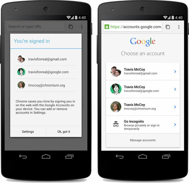 Chrome Beta për Android përditësohet me pamjen e Material Design