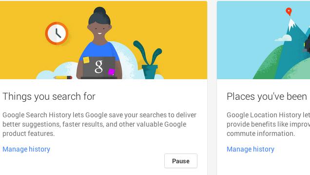 Faqja e re e Historisë së Llogarisë në Google ju ndihmon që të kontrolloni privatësinë tuaj