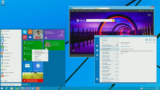 Windows 9 Preview do të vijë nga fundi i vitit me një përqendrim në desktop