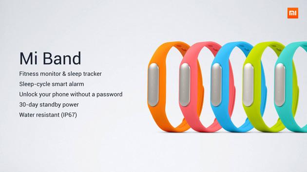 Xiaomi prezanton rripin inteligjent të dorës Mi Band