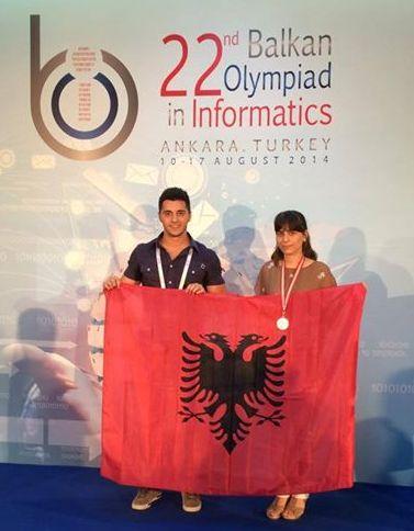 Ekipi shqiptar vlerësohet me medalje bronzi në Olimpiadën Ballkanike të Informatikës
