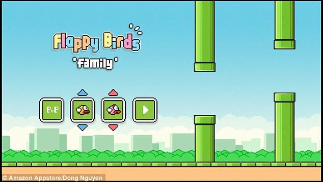 Rikthehet loja Flappy Bird për pajisjet e Amazon