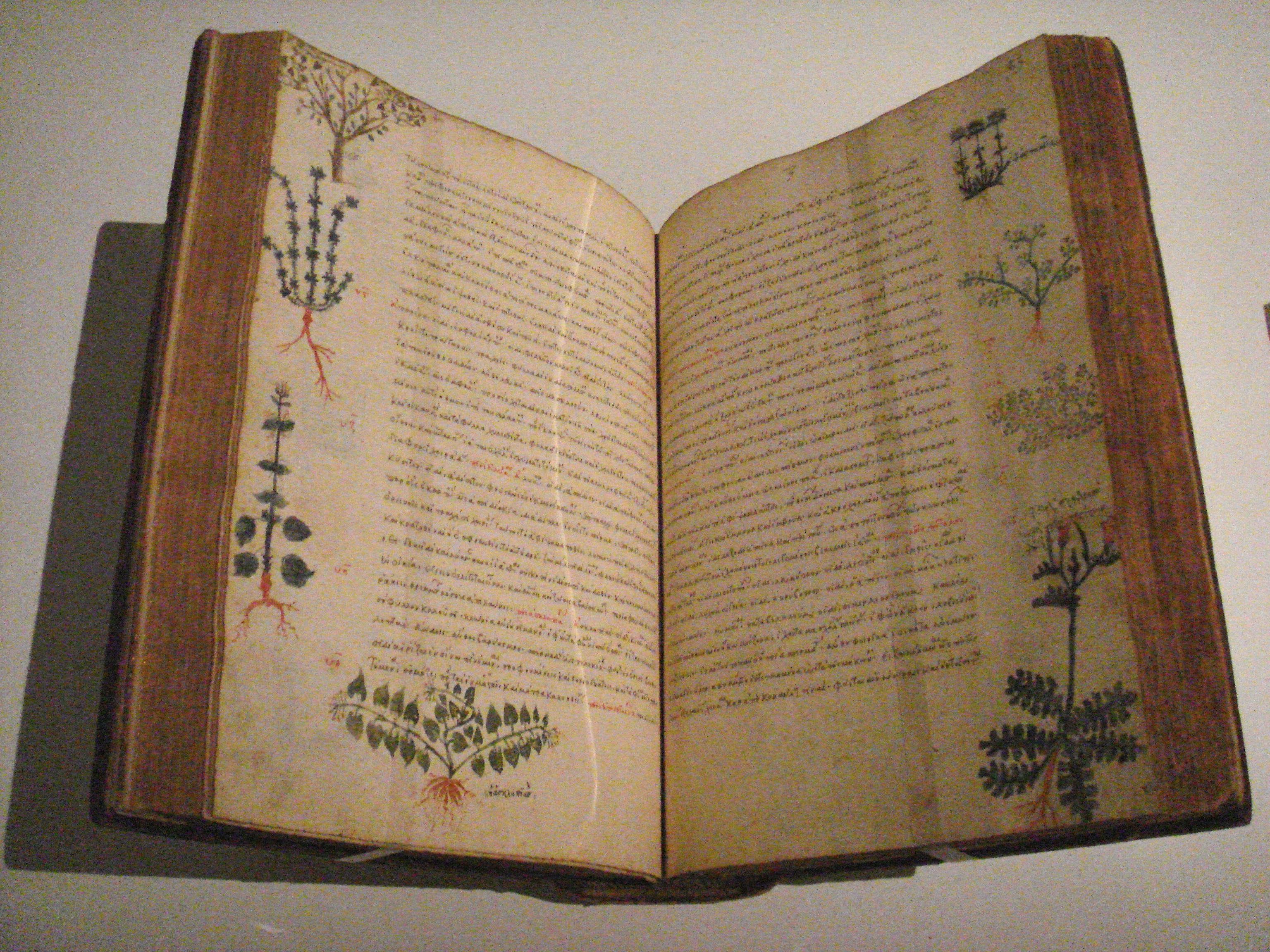 Dioscorides_De_Materia_Medica_Byzantium_15th_century