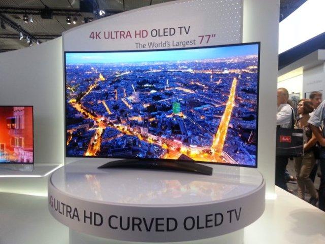 LG është e para kompani që komercializon televizorët 4K OLED