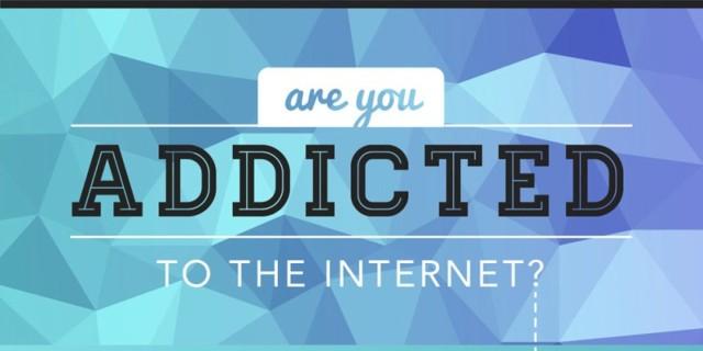 A jeni të varur nga interneti (Infografik)