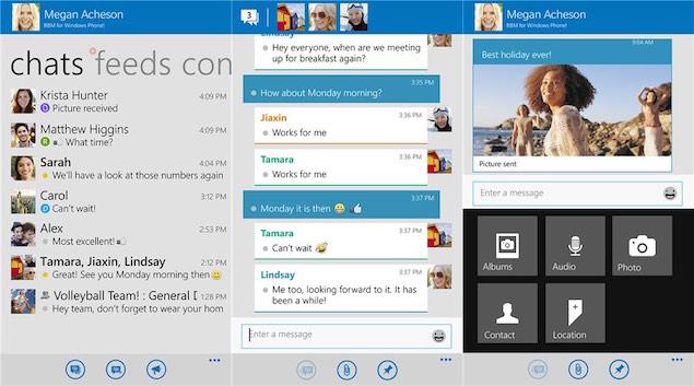 Versioni Beta i Blackberry Messenger, i disponueshëm për të gjithë për tu shkarkuar