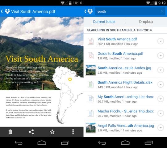 Përditësohet Dropbox për Android me disa veçori të reja