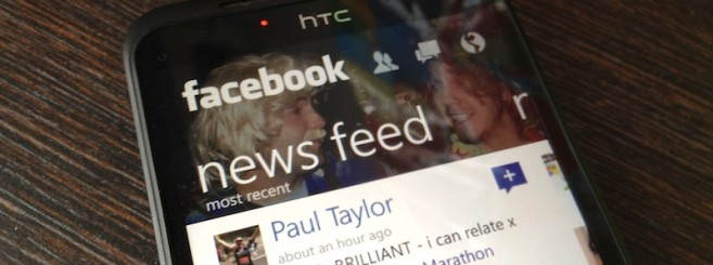 Microsoft përditëson aplikacionin Facebook për Windows Phone me një ndërfaqe të re