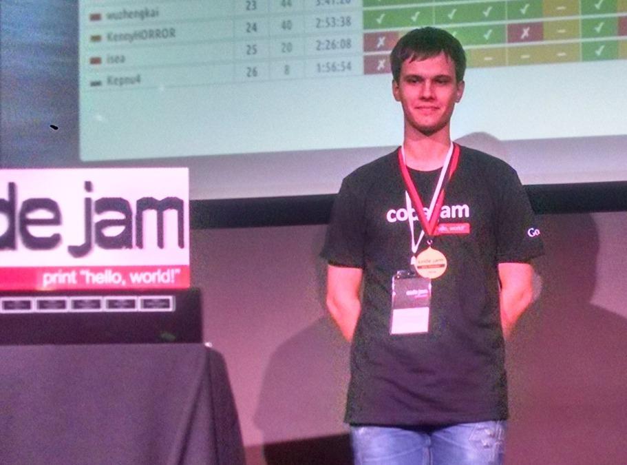 """Gennady Korotkevich nga Bjellorusia është fituesi i garës së programimit të Google """"Code Jam"""""""
