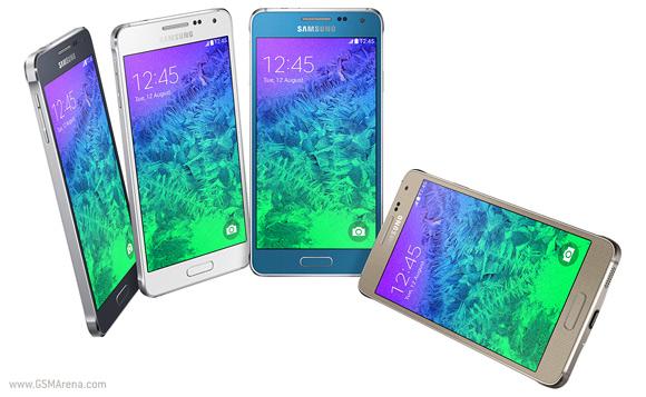 Samsung zbulon smartfonin premium Galaxy Alpha