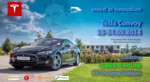Makina elektrike Tesla Model S vjen në Tiranë dhe Prishtinë