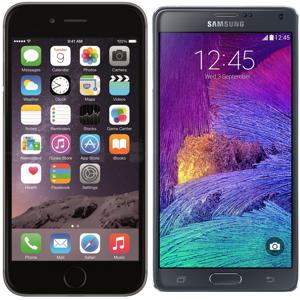 Samsung pretendon se Apple ka imituar Galaxy Note në iPhone 6 Plus