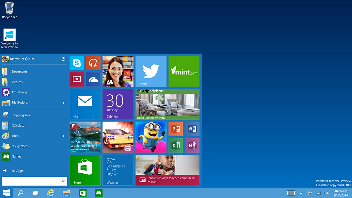 Microsoft lançon zyrtarisht Windows 10