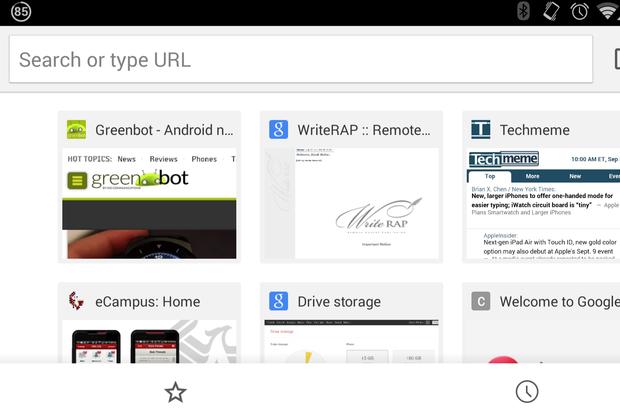 Chrome për Android përditësohet me ndërfaqen e Material Design